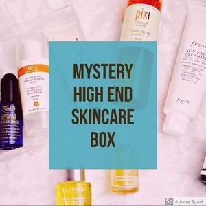 Mystery skincare box! 4 full size, 5 trial size!